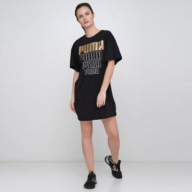 Плаття і Спідниці puma Rebel Light Weight Tee Dress - 123248, фото 1 - інтернет-магазин MEGASPORT