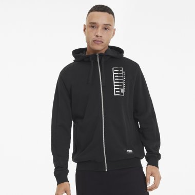 Кофти puma Athletics Hooded Jacket Tr - 123068, фото 1 - інтернет-магазин MEGASPORT