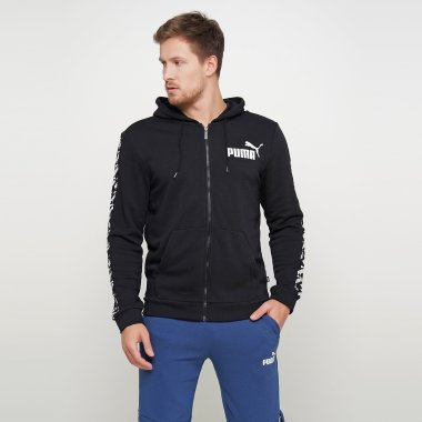 Кофты puma Amplified Hooded Jacket Tr - 122807, фото 1 - интернет-магазин MEGASPORT