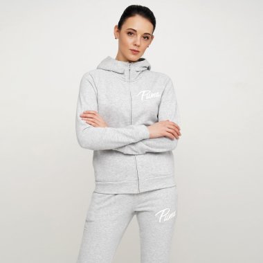 Кофты puma Athletics Hooded Jacket Tr - 122822, фото 1 - интернет-магазин MEGASPORT