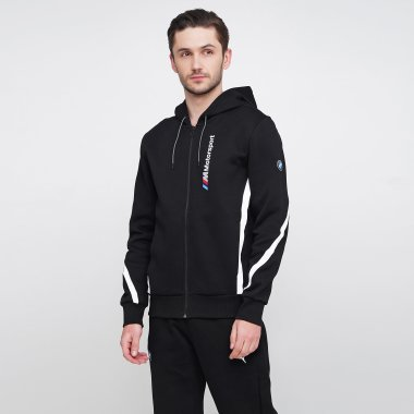 Кофти puma Bmw Mms Hooded Sweat Jacket - 120998, фото 1 - інтернет-магазин MEGASPORT