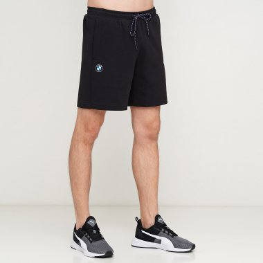 Шорты puma Bmw Mms Sweat Shorts - 123297, фото 1 - интернет-магазин MEGASPORT