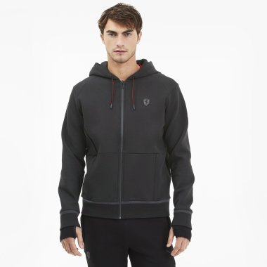 Кофти puma Ferrari Hooded Sweat Jacket - 123072, фото 1 - інтернет-магазин MEGASPORT