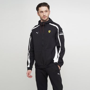 Кофты puma Sf Hooded Sweat Jacket - 123300, фото 1 - интернет-магазин MEGASPORT