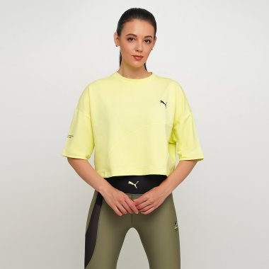 Футболки puma Evide Form Stripe Crop Tee - 123308, фото 1 - интернет-магазин MEGASPORT