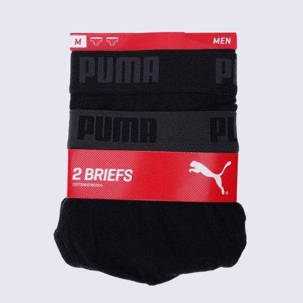 Нижнее белье Puma Basic Brief 2p - 100223, фото 1 - интернет-магазин MEGASPORT