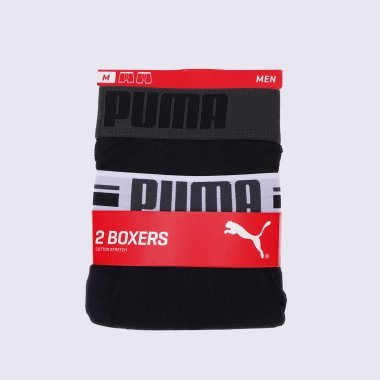 Нижнее белье puma Placed Logo Boxer 2p - 123324, фото 1 - интернет-магазин MEGASPORT