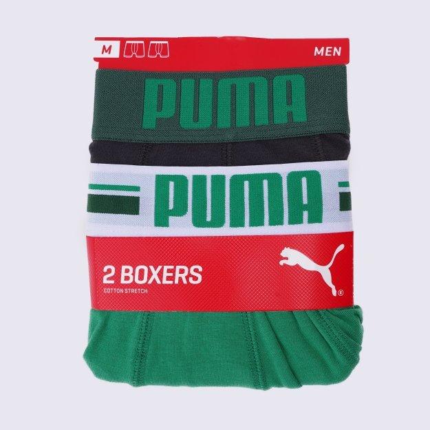 Нижня білизна Puma Placed Logo Boxer 2p - MEGASPORT
