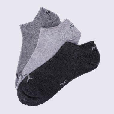 Шкарпетки puma Unisex Sneaker Plain 3p - 106071, фото 1 - інтернет-магазин MEGASPORT