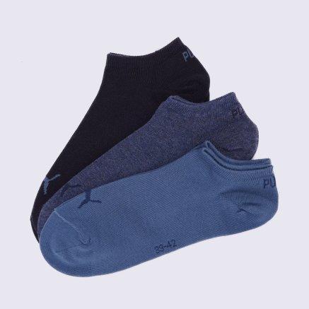 Носки Puma Unisex Sneaker Plain 3p - 109239, фото 1 - интернет-магазин MEGASPORT