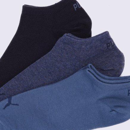 Носки Puma Unisex Sneaker Plain 3p - 109239, фото 3 - интернет-магазин MEGASPORT