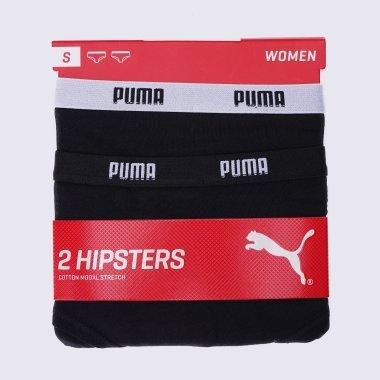 Нижнее белье puma Iconic Hipster 2p - 109242, фото 1 - интернет-магазин MEGASPORT