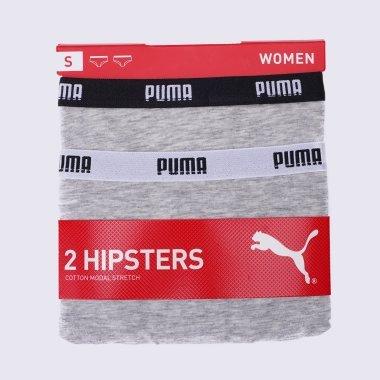 Нижнее белье puma Iconic Hipster 2p - 123327, фото 1 - интернет-магазин MEGASPORT