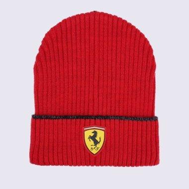 Шапки puma Ferrari Race Beanie - 125918, фото 1 - інтернет-магазин MEGASPORT