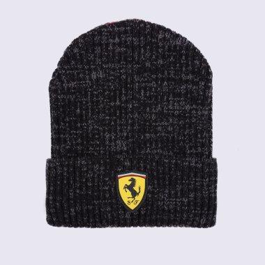 Шапки puma Ferrari Race Beanie - 125919, фото 1 - интернет-магазин MEGASPORT