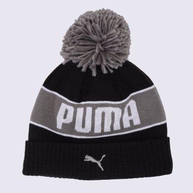 Шапки puma Pom Beanie - 125933, фото 1 - інтернет-магазин MEGASPORT