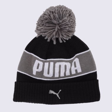 Шапки puma Pom Beanie - 125933, фото 1 - интернет-магазин MEGASPORT