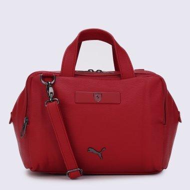 Сумки puma Ferrari Style Wmn S Handbag - 125567, фото 1 - интернет-магазин MEGASPORT