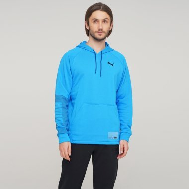 Кофты puma Train Graphic Knit Hoodie - 125450, фото 1 - интернет-магазин MEGASPORT