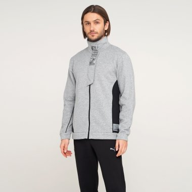 Кофты puma Train Knit Fz Jacket - 126657, фото 1 - интернет-магазин MEGASPORT