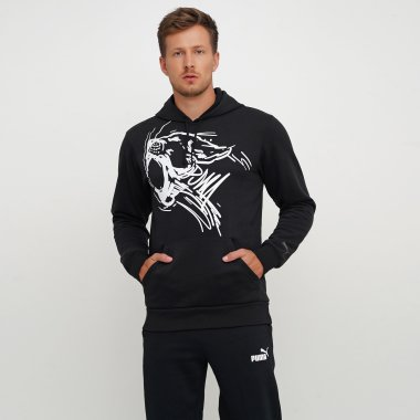 Кофти puma Performance Graphic Hoodie - 125588, фото 1 - інтернет-магазин MEGASPORT