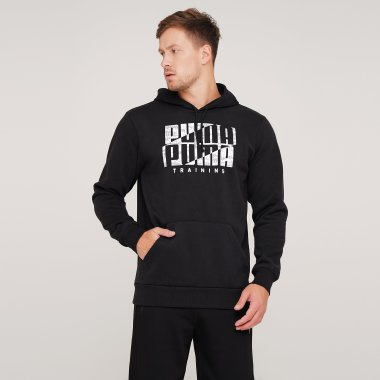 Кофты puma Performance Graphic Hoodie Puma - 126839, фото 1 - интернет-магазин MEGASPORT
