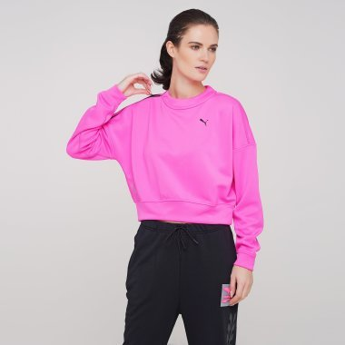 Кофти puma Train Zip Crew Sweatshirt - 125453, фото 1 - інтернет-магазин MEGASPORT