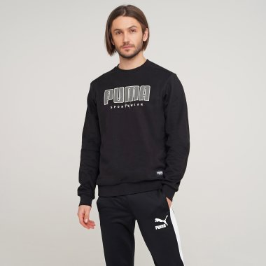 Кофты puma Athletics Crew - 125788, фото 1 - интернет-магазин MEGASPORT
