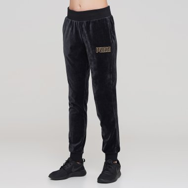 Спортивні штани puma Modern Basics Velour Pants - 126703, фото 1 - інтернет-магазин MEGASPORT