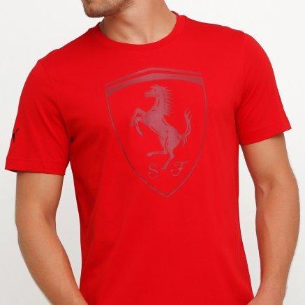 Футболка Puma Ferrari Big Shield Tee - 119670, фото 4 - інтернет-магазин MEGASPORT