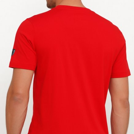 Футболка Puma Ferrari Big Shield Tee - 119670, фото 5 - інтернет-магазин MEGASPORT