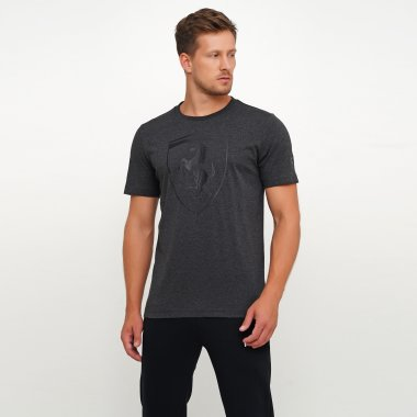 Футболки puma Ferrari Big Shield Tee - 119671, фото 1 - интернет-магазин MEGASPORT