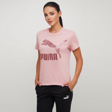 Футболки puma Classics  Logo Tee - 125837, фото 1 - интернет-магазин MEGASPORT