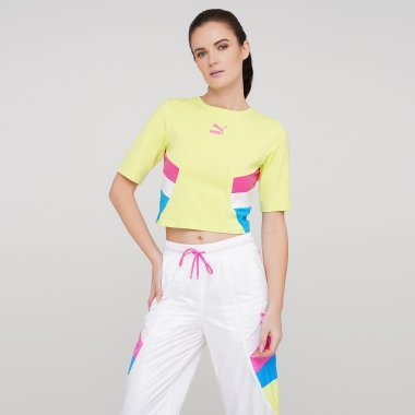 Футболки puma Tfs Retro Crop Top - 125848, фото 1 - интернет-магазин MEGASPORT