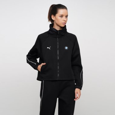 Кофты puma Bmw Mms Wmn Sweat Jacket - 125527, фото 1 - интернет-магазин MEGASPORT