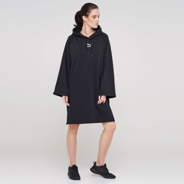Платья puma Classics Hooded Dress - 126728, фото 1 - интернет-магазин MEGASPORT