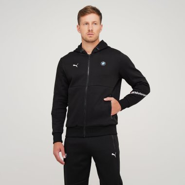 Кофти puma Bmw Mms Hooded Sweat Jacket - 125867, фото 1 - інтернет-магазин MEGASPORT