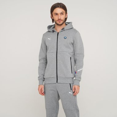 Кофты puma Bmw Mms Hooded Sweat Jacket - 125868, фото 1 - интернет-магазин MEGASPORT
