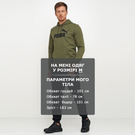 Спортивнi штани Puma Essentials Fleece Pants - 111967, фото 6 - інтернет-магазин MEGASPORT