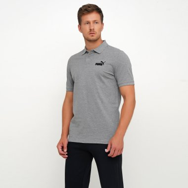 Поло puma Essentials Pique Polo - 125627, фото 1 - интернет-магазин MEGASPORT