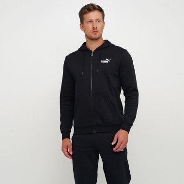 Кофты puma Essentials Fleece Hooded Jkt - 111970, фото 1 - интернет-магазин MEGASPORT