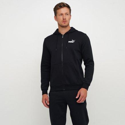 Кофта Puma Essentials Fleece Hooded Jkt - 111970, фото 1 - интернет-магазин MEGASPORT