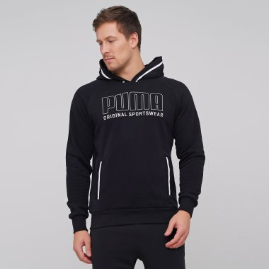 Кофты puma Athletics Hoody Tr - 127513, фото 1 - интернет-магазин MEGASPORT
