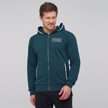 Кофты puma Athletics Hooded Jacket Tr - 127514, фото 1 - интернет-магазин MEGASPORT
