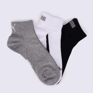 Шкарпетки puma Lifestyle Quarter 3P - 8353, фото 1 - інтернет-магазин MEGASPORT