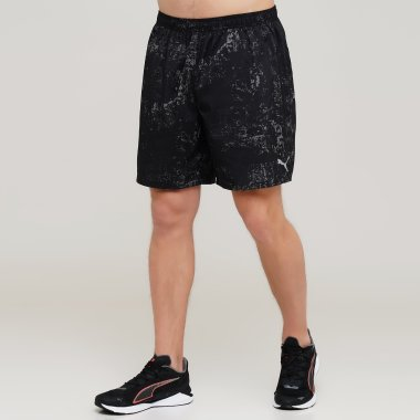 Шорты puma Run Graphic Woven 7' Short - 128263, фото 1 - интернет-магазин MEGASPORT