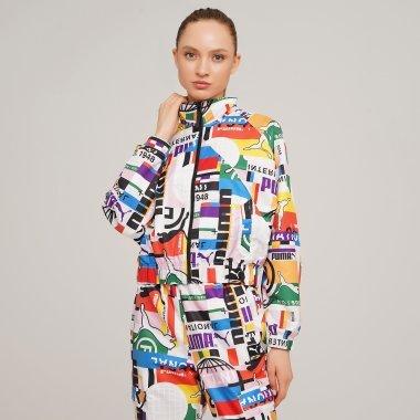 Ветровки puma Pi Aop Woven Track Jacket - 128281, фото 1 - интернет-магазин MEGASPORT