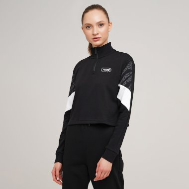 Кофти puma Rebel Half-Zip Crew - 127961, фото 1 - інтернет-магазин MEGASPORT