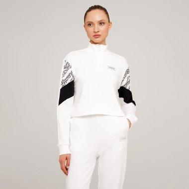 Кофты puma Rebel Half-Zip Crew - 127962, фото 1 - интернет-магазин MEGASPORT