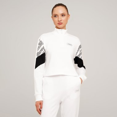 Кофти puma Rebel Half-Zip Crew - 127962, фото 1 - інтернет-магазин MEGASPORT
